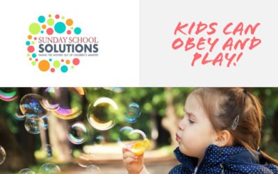 Kids Can Obey and Play!