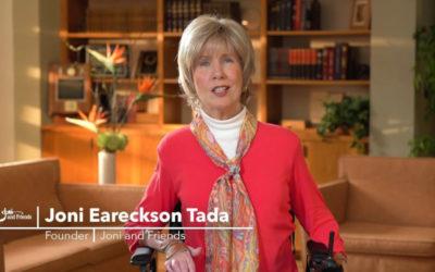 Joni Eareckson Tada Endorsement