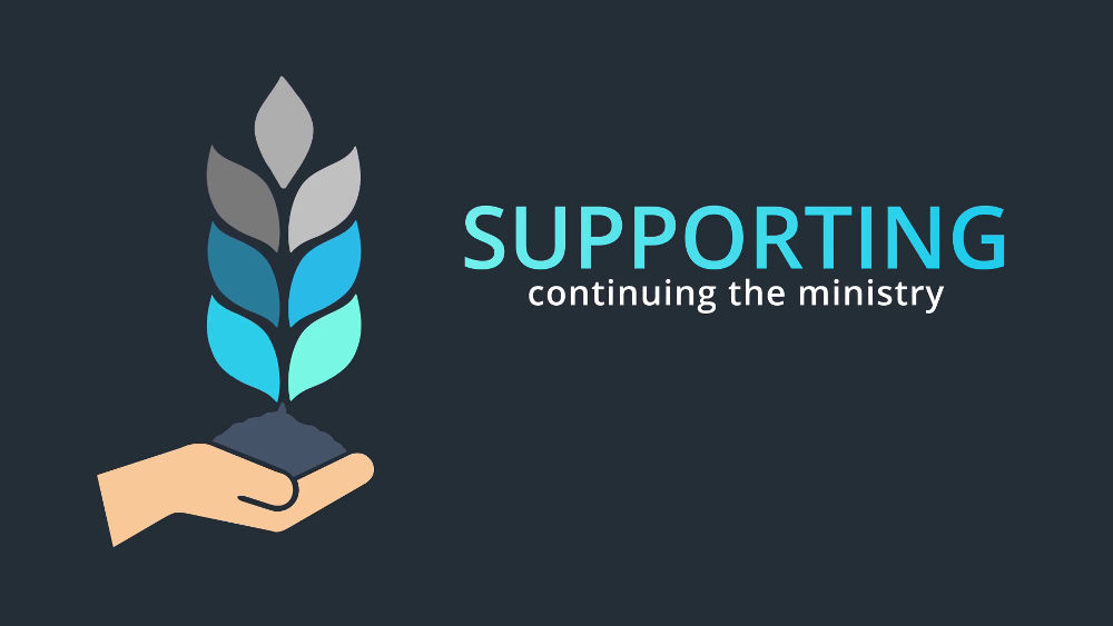 Supporting: Continuing the Ministry