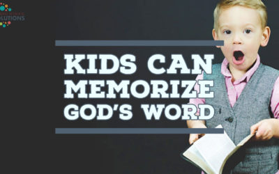 Kid's Can Memorize God's Word