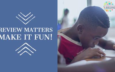 Review Matters—Make it Fun!