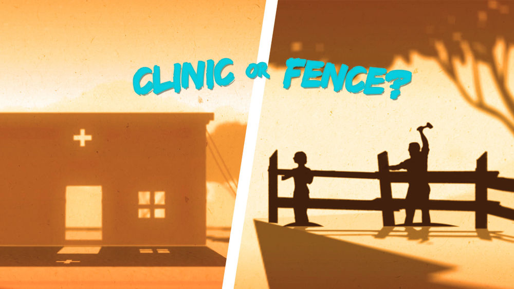 Clinic or Fence?
