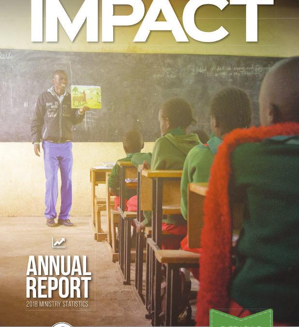 IMPACT Annual Report 2018 Ministry Statistics