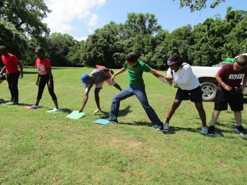 Teens Learn Leadership Skills in CYIA