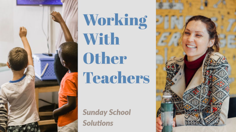 Working with other teachers