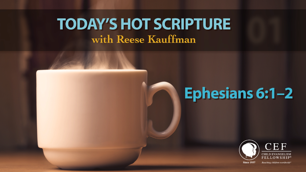 Instructions For Children | Today's Hot Scripture